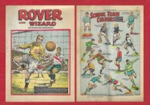 Rover Comic USA v England Joe Gaetjens & Bert Williams November 30th 1968